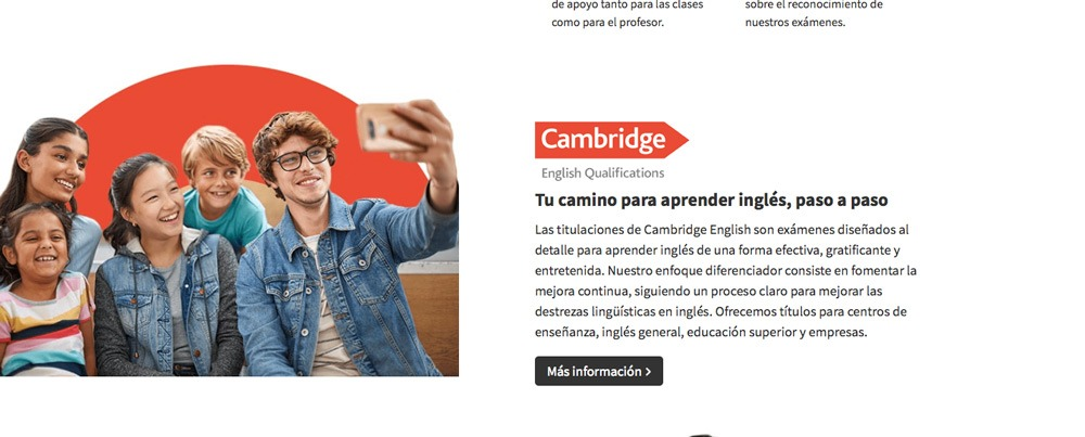 examenes de Cambridge Sevilla Este